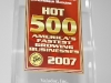 Entrepreneur Magazine's Hot 500 Award