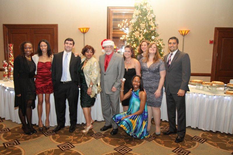 Group photo at Holiday Party